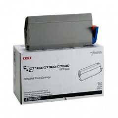 Okidata 41963004 (Type C4) OEM Black Laser Toner Cartridge