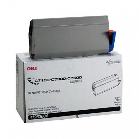 Okidata 41963004 (Type C4) OEM Black Laser Toner Cartridge