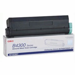 Okidata 42102901 (Type C9) OEM HY Black Toner Cartridge