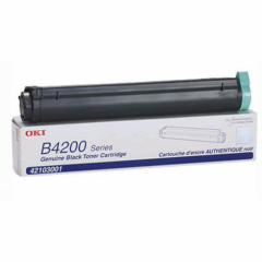 Okidata 42103001 (Type C9) OEM Black Laser Toner Cartridge