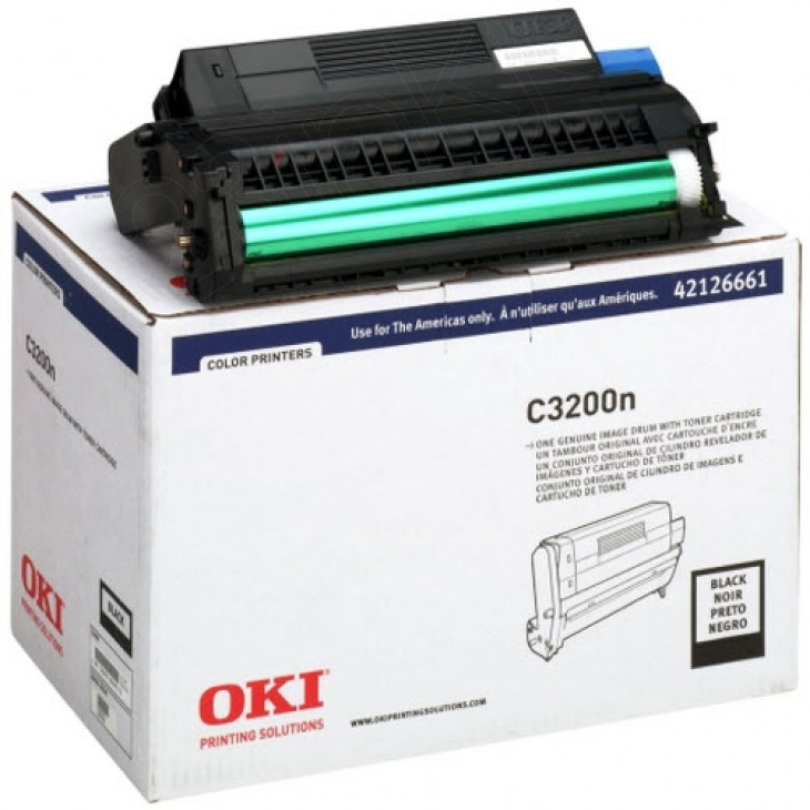 Okidata 42126661 (Type C6) OEM Laser Black Drum Unit