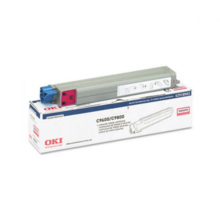 Okidata 42918902 (Type C7) OEM Magenta Toner Cartridge