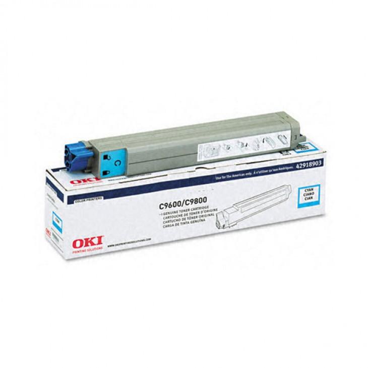 Okidata 42918903 (Type C7) OEM Cyan Laser Toner Cartridge