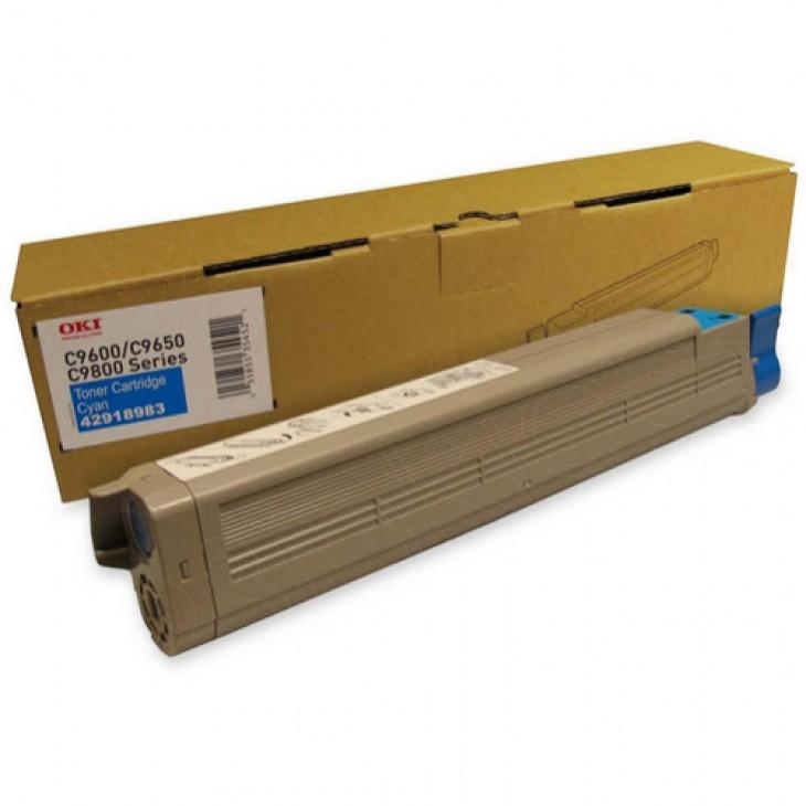 Okidata 42918983 (Type C7) OEM Cyan Laser Toner Cartridge