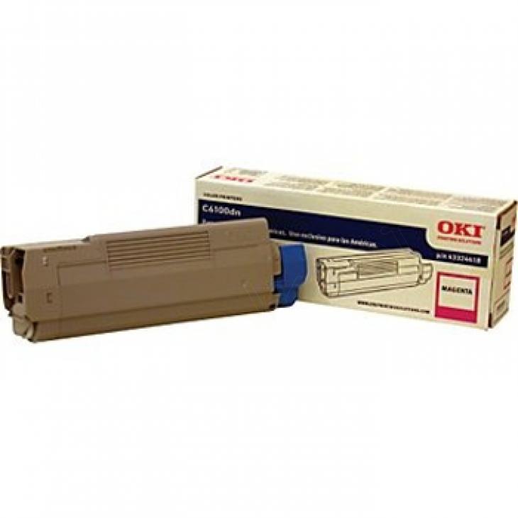 Okidata 43324418 (Type C8) OEM Magenta Toner Cartridge
