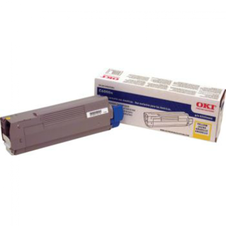 Okidata 43324466 OEM Yellow Laser Toner Cartridge