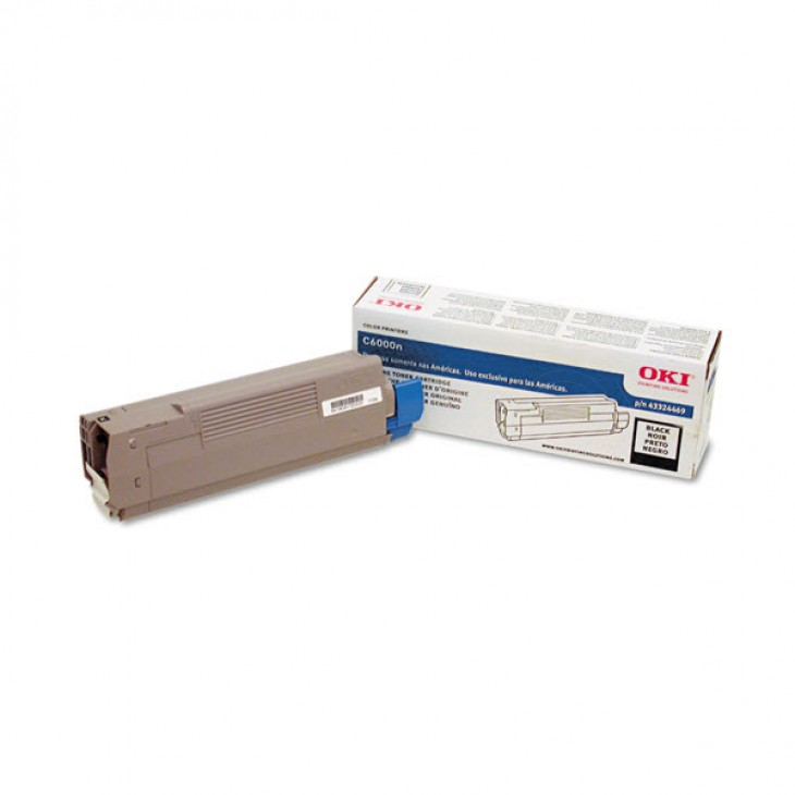 Okidata 43324469 OEM Black Laser Toner Cartridge