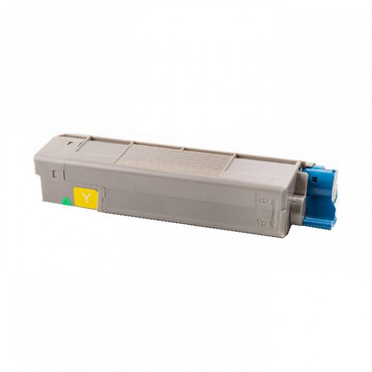 Okidata 43324474 (Type C8) OEM Yellow Laser Toner Cartridge