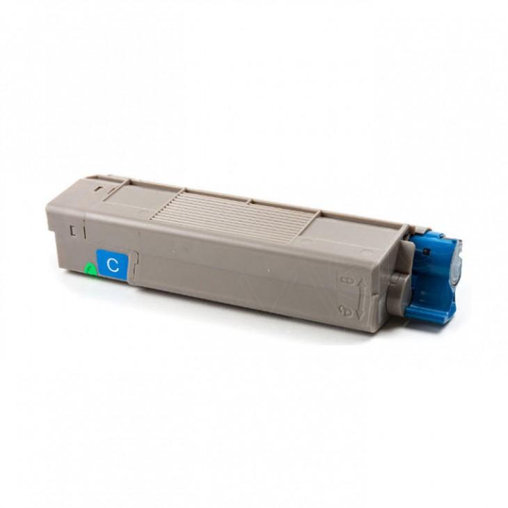 Okidata 43324476 (Type C8) OEM Cyan Laser Toner Cartridge