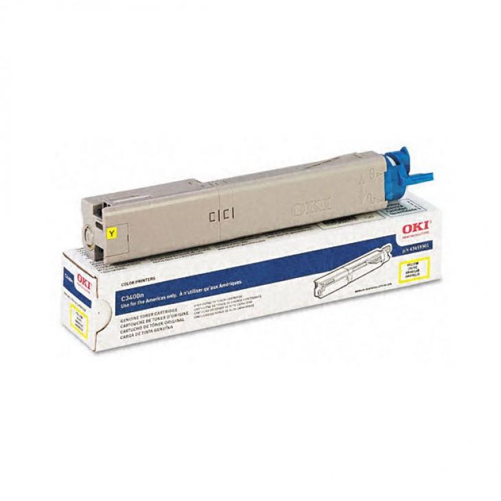 Okidata 43459301 OEM HY Yellow Laser Toner Cartridge