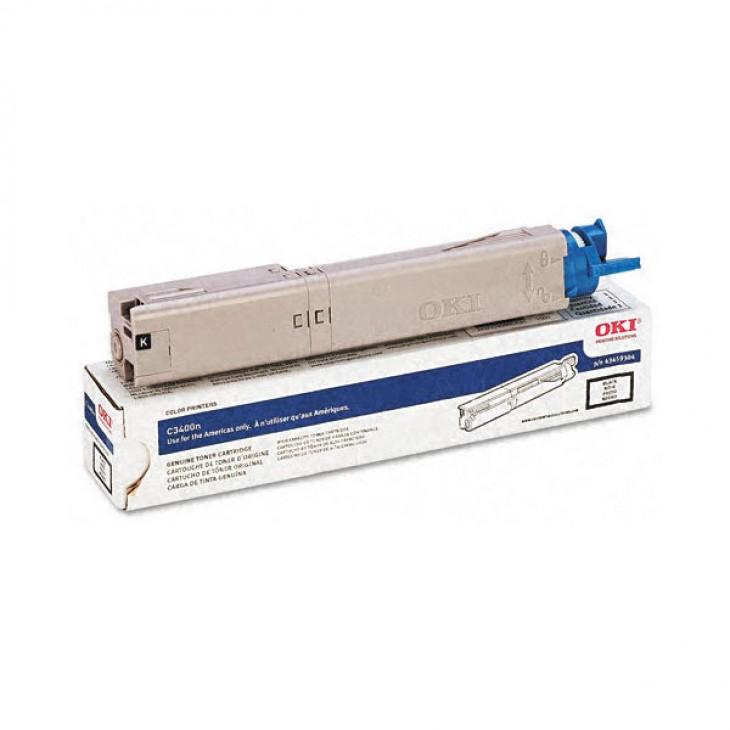 Okidata 43459302 OEM HY Magenta Laser Toner Cartridge