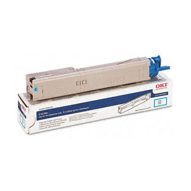 Okidata 43459303 OEM HY Cyan Laser Toner Cartridge