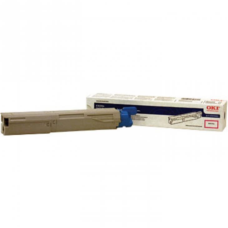 Okidata 43459402 OEM Magenta Laser Toner Cartridge