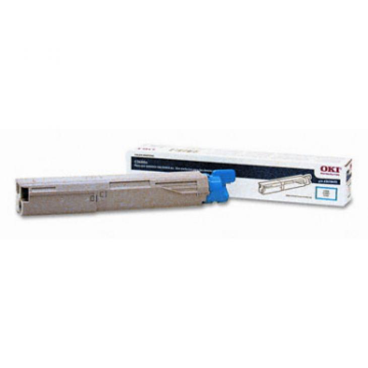 Okidata 43459403 OEM Cyan Laser Toner Cartridge