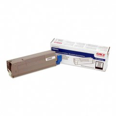 Okidata 43487736 OEM Black Laser Toner Cartridge