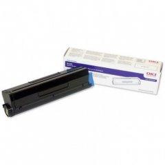 Okidata 43502001 (Type 9) OEM HY Black Toner Cartridge