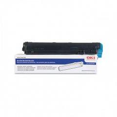 Okidata 43502301 (Type 9) OEM Black Laser Toner Cartridge