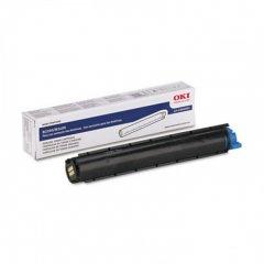 Okidata 43640301 OEM Black Laser Toner Cartridge