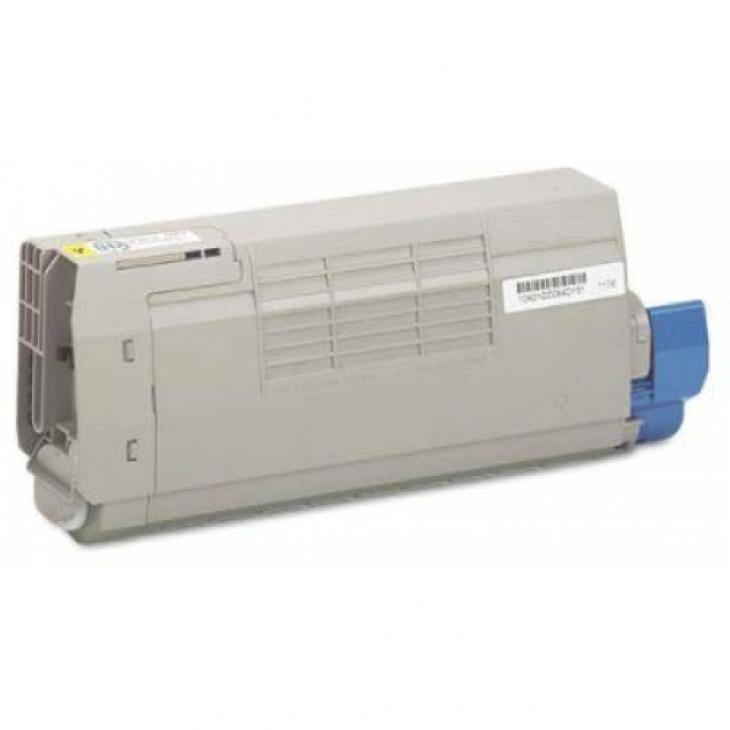 Okidata 43866101 OEM Yellow Laser Toner Cartridge