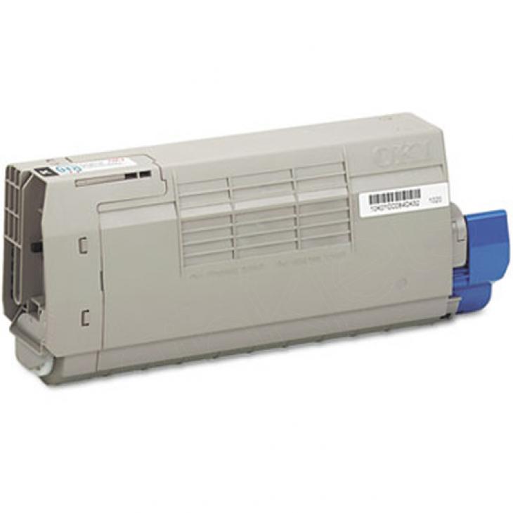Okidata 43866103 (Type C16) OEM Cyan Laser Toner Cartridge