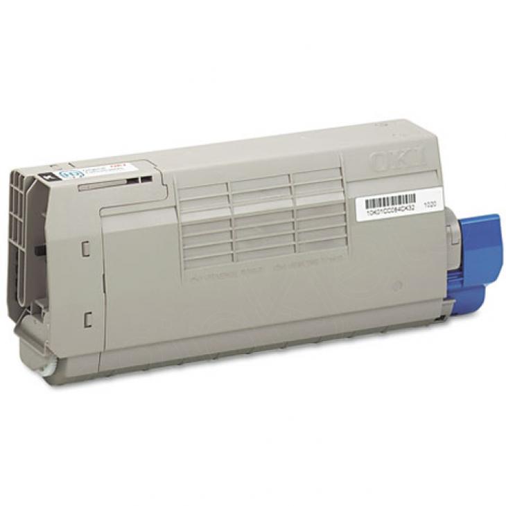 Okidata 43866104 (Type C16) OEM Black Laser Toner Cartridge