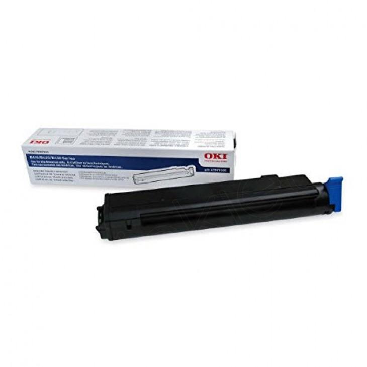 Okidata 43979101 (Type 9) OEM Black Laser Toner Cartridge