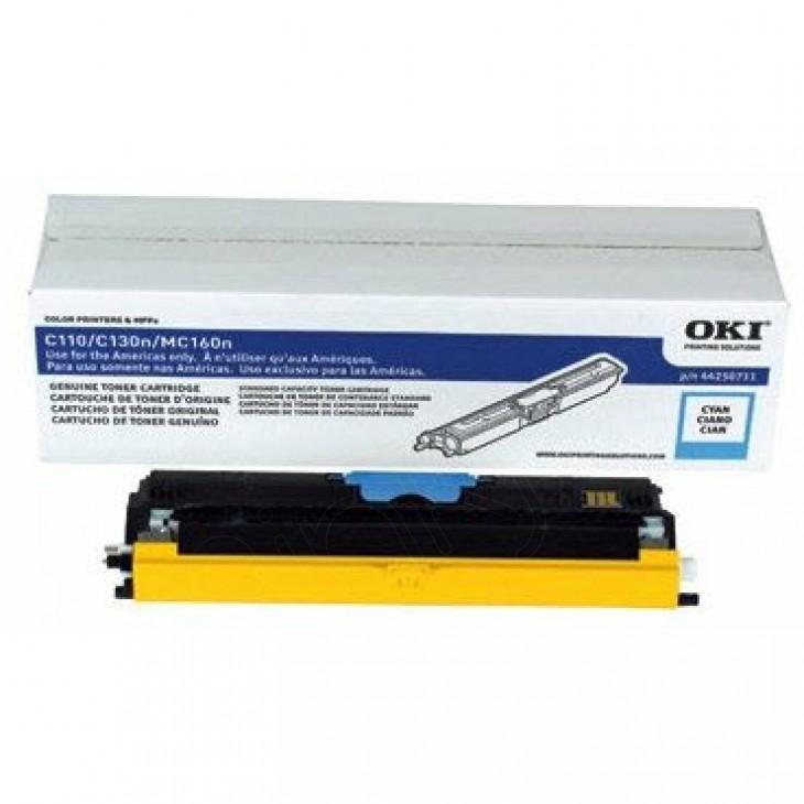 Okidata 44250711 (Type D1) OEM Cyan Laser Toner Cartridge