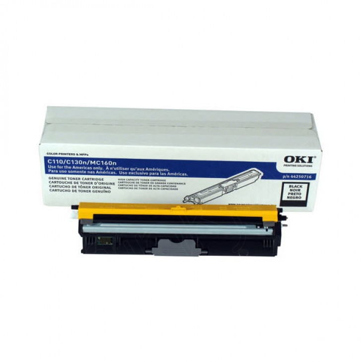 Okidata 44250716 (Type D1) OEM HY Black Toner Cartridge