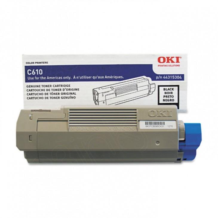 Okidata 44315304 (Type C15) OEM Black Laser Toner Cartridge