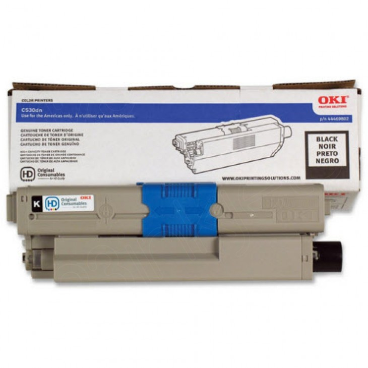 Okidata 44469802 (Type C17) OEM HY Black Toner Cartridge