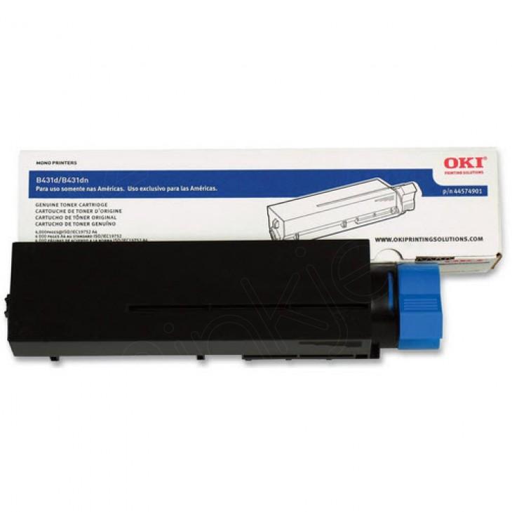 Okidata 44574901 (Type B2) OEM HY Black Toner Cartridge
