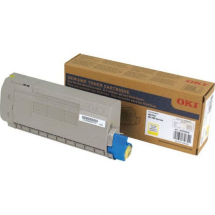 Okidata 45396209 Yellow OEM Laser Toner Cartridge