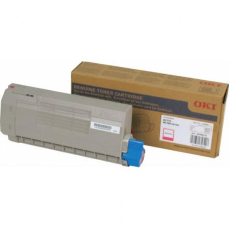 Okidata 45396210 Magenta OEM Laser Toner Cartridge