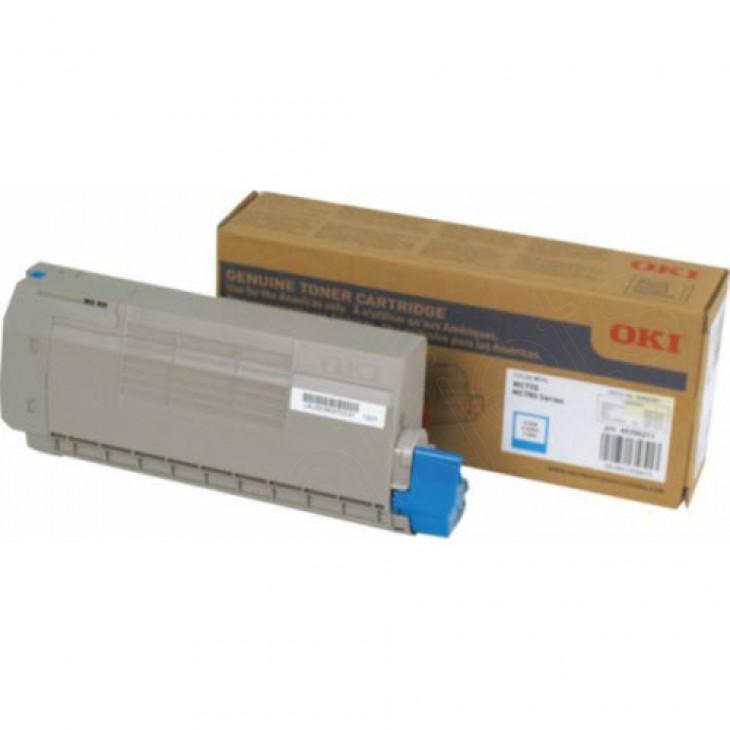 Okidata 45396211 Cyan OEM Laser Toner Cartridge