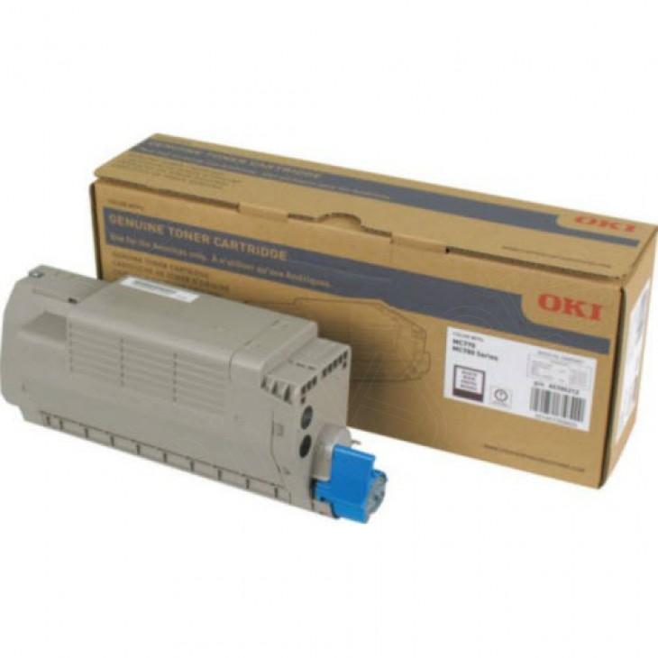 Okidata 45396212 Black OEM Laser Toner Cartridge