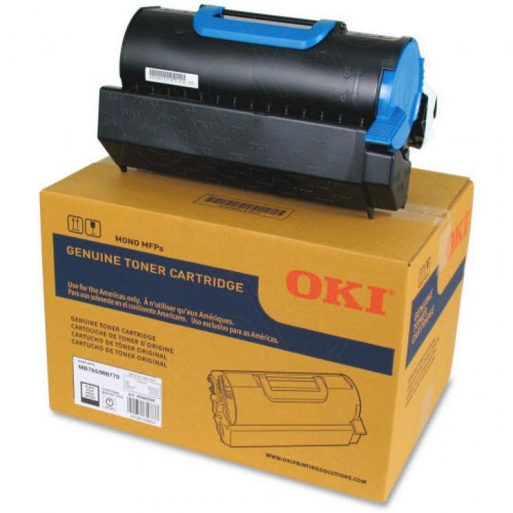 Okidata 45460508 Black OEM Toner for MB760 and MB770