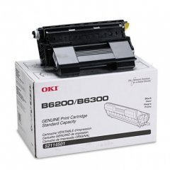 Okidata 52114501 OEM Black Laser Toner Cartridge
