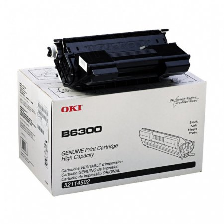 Okidata 52114502 OEM HY Black Laser Toner Cartridge