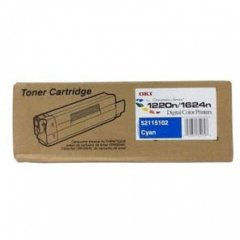 Okidata 52115102 (Type 6) OEM Cyan Laser Toner Cartridge