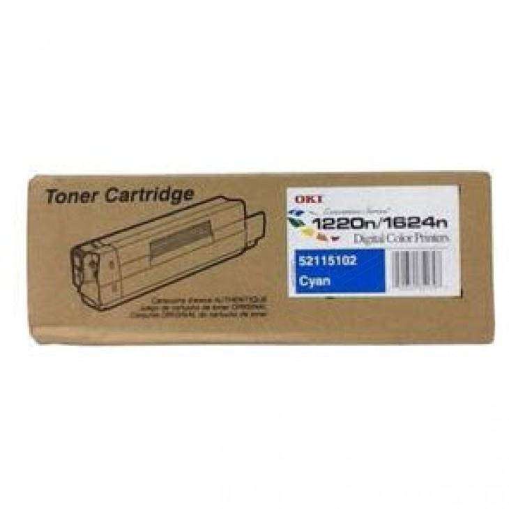 Okidata 52115102 (Type 6) OEM Cyan Laser Toner Cartridge