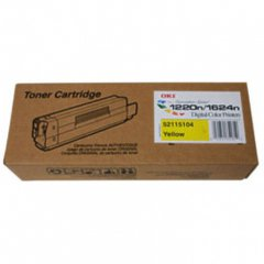Okidata 52115104 (Type 6) OEM Yellow Laser Toner Cartridge
