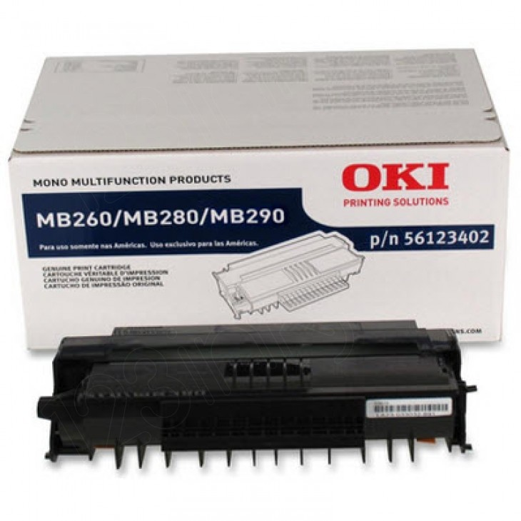 Okidata 56123402 OEM HY Black Laser Toner Cartridge