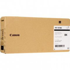 Original Canon PFI-707BK Black 700ml Inku00a0