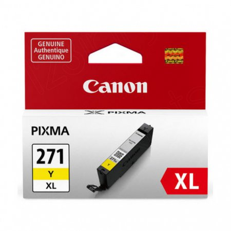 Canon Original CLI-271XL High Yield Yellow Ink