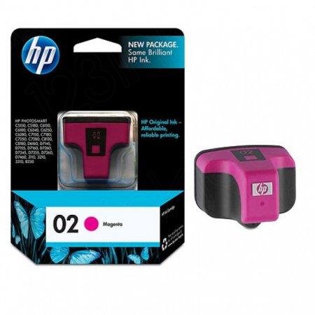 Original C8772WN (HP 02) Ink Cartridges, Magenta
