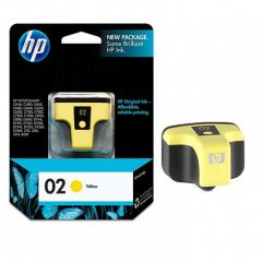 Original C8773WN (HP 02) Ink Cartridges, Yellow