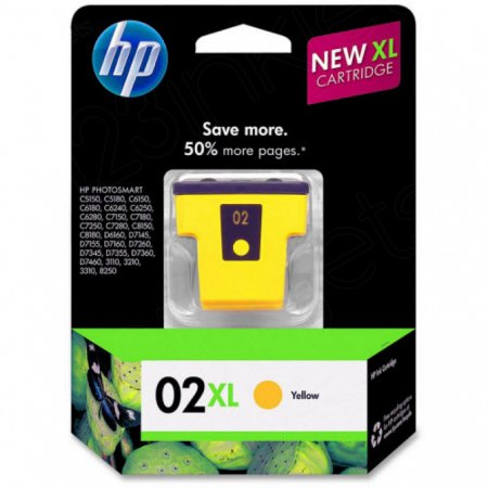 Original C8732WN (HP 02XL) Ink, Yellow