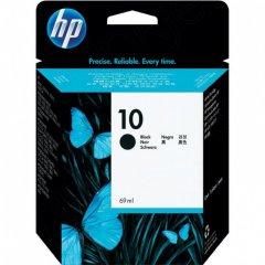 Original C4844A (HP 10) Ink Cartridges, High-Yield Black
