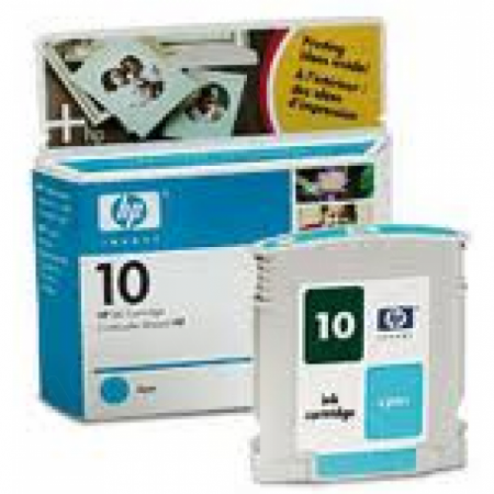 Original C4841A (HP 10) Ink Cartridges, Cyan