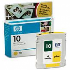 Original C4842A (HP 10) Ink Cartridges, Yellow